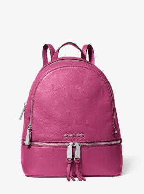 마이클 마이클 코어스 레아 백팩 미디움 Michael Michael Kors Rhea Medium Leather Backpack