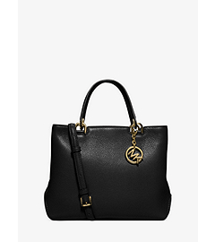 Anabelle Medium Leather Tote  by Michael Kors