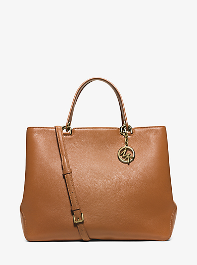 Anabelle Extra-Large Leather Tote  by Michael Kors