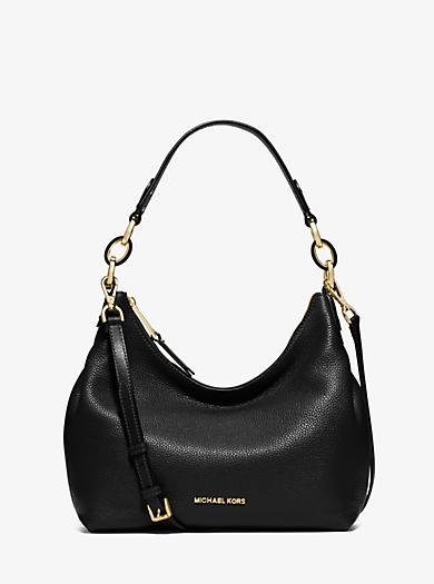 Isabella Medium Leather Shoulder Bag by Michael Kors