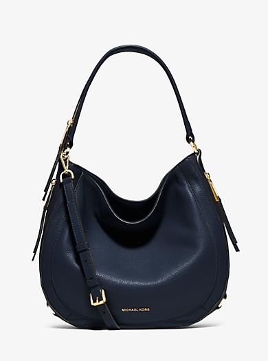Julia Medium Leather Shoulder Bag by Michael Kors