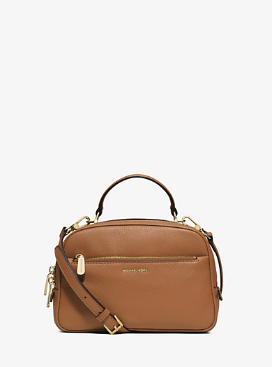 Luka Small Leather Satchel by Michael Kors