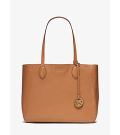 Mae Large Leather Tote  by Michael Kors