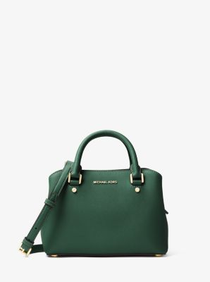 Savannah Small Saffiano Leather Satchel  by Michael Kors