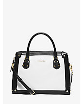 Taryn Large Leather Satchel