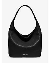 Lena Large Leather Shoulder Bag