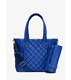 Roberts Large Quilted-Nylon Diaper Bag  by Michael Kors