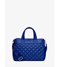 Roberts Medium Quilted-Nylon Gym Tote  by Michael Kors