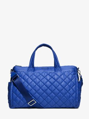 Roberts Large Quilted-Nylon Duffel Bag  by Michael Kors