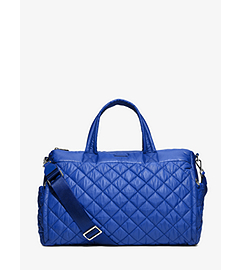 Roberts Large Quilted-Nylon Yoga Duffel Bag  by Michael Kors