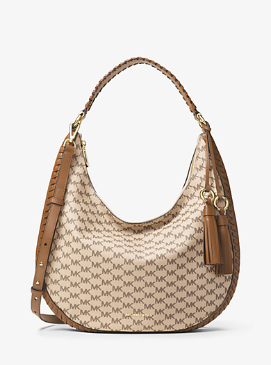 Schultertasche Lydia Large mit Logo by Michael Kors
