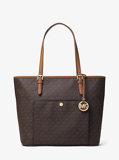 Tragetasche Jet Set Travel Small mit Logo by Michael Kors