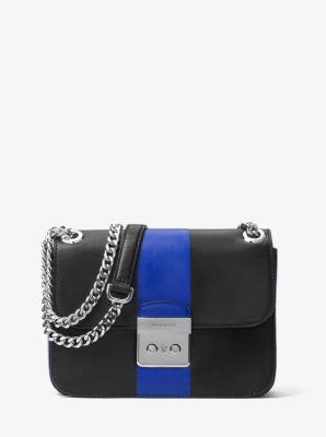 Sloan Editor Medium Leather Shoulder Bag by Michael Kors