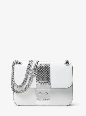 Sloan Editor Medium Leather Chain Shoulder Bag by Michael Kors