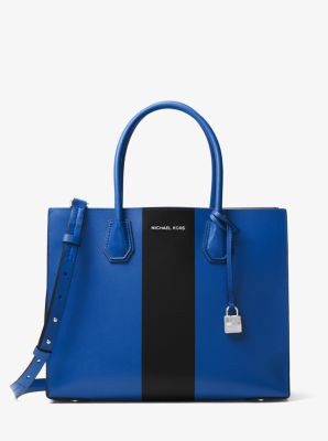 Mercer Large Leather Tote by Michael Kors