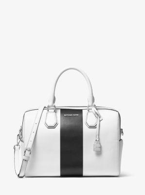 Mercer Medium Leather Duffel by Michael Kors