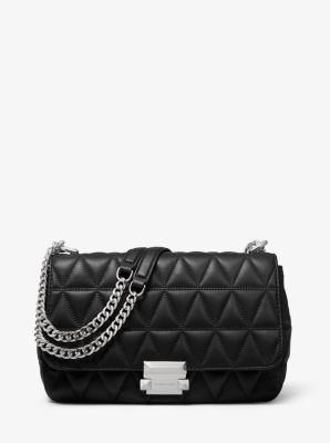 Sloan Large Quilted Leather Shoulder Bag Michael Kors