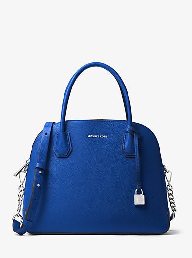 Henkeltasche Mercer Large aus Leder in Kuppelform by Michael Kors