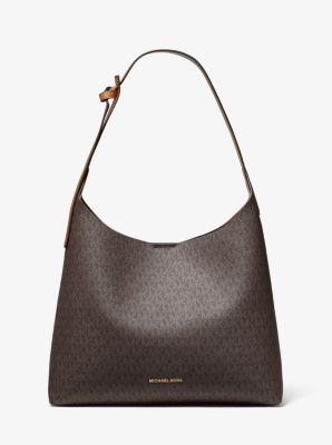 마이클 마이클 코어스 Michael Michael Kors Junie Medium Logo Shoulder Bag