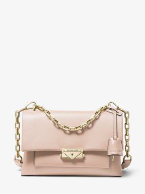 마이클 마이클 코어스 씨씨백 미디움 - 소프트 핑크 Michael Michael Kors Cece Medium Leather Shoulder Bag,SOFT PINK