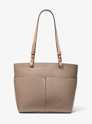 마이클 마이클 코어스 Michael Michael Kors Bedford Medium Pebbled Leather Tote,TRUFFLE