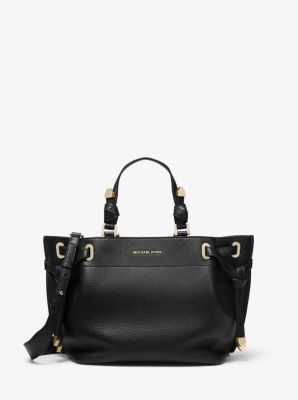 마이클 마이클 코어스 Michael Michael Kors Greta Medium Pebbled Leather Satchel
