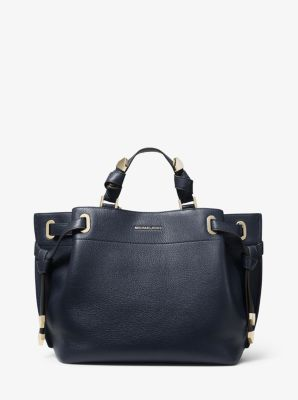 마이클 마이클 코어스 Michael Michael Kors Greta Large Pebbled Leather Satchel