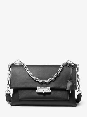 마이클 마이클 코어스 씨씨백 라지 - 2 컬러 Michael Michael Kors Cece Large Leather Shoulder Bag