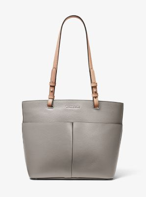 마이클 마이클 코어스 Michael Michael Kors Bedford Medium Pebbled Leather Tote,PEARL GREY