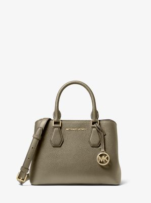 마이클 마이클 코어스 사첼백 Michael Michael Kors Camille Small Pebbled Leather Satchel