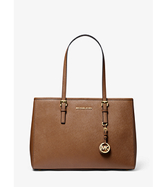 Jet Set Travel Saffiano Leather Tote