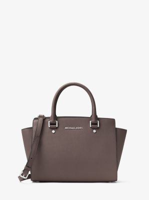 selma medium saffiano leather satchel michael kors. Black Bedroom Furniture Sets. Home Design Ideas