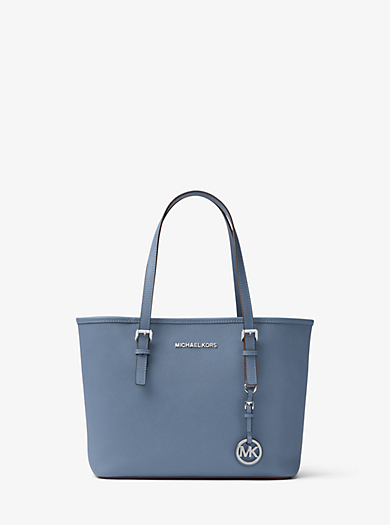 Borsa tote Jet Set Travel piccola in pelle Saffiano by Michael Kors