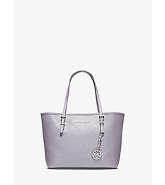 Jet Set Travel Saffiano Leather Small Tote by Michael Kors