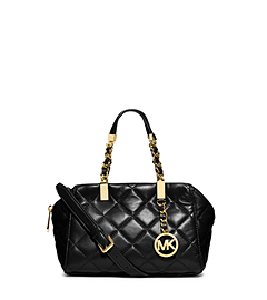 Susannah Quilted Small Satchel