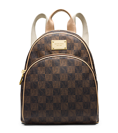 Jet Set Travel Checkerboard Small Backpack