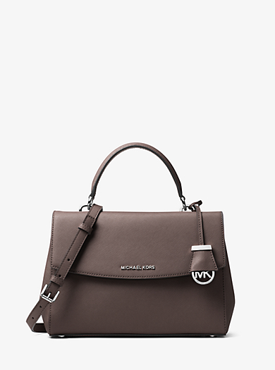 Borsa a mano Ava media in pelle Saffiano by Michael Kors