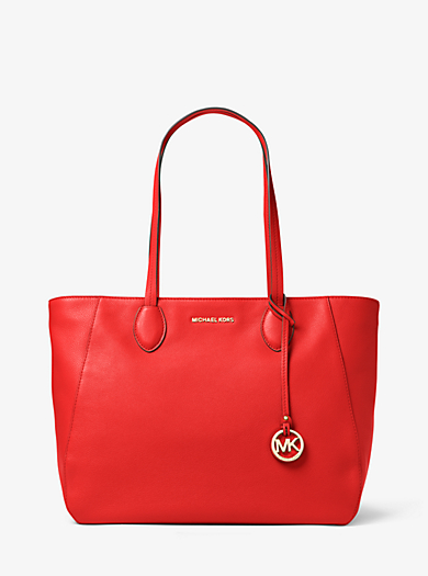 Ani Large Leather Tote by Michael Kors