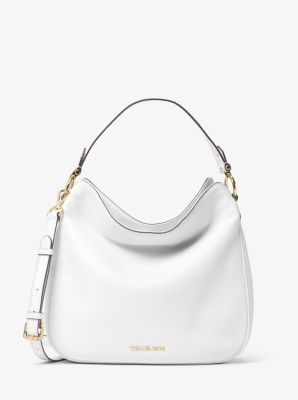 Heidi Medium Leather Shoulder Bag by Michael Kors