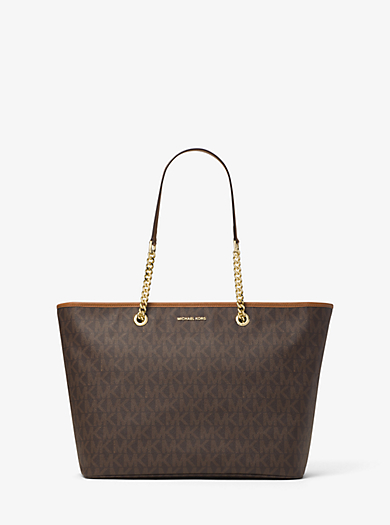 Borsa tote Jet Set Travel media con logo by Michael Kors