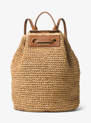 Krissy Large Straw Backpack