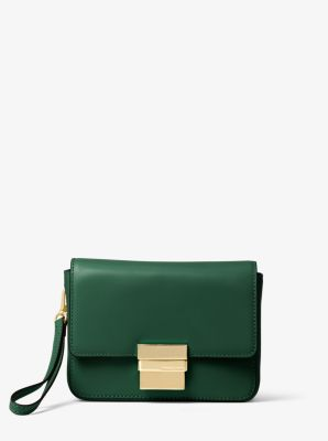 Madelyn Small Leather Clutch by Michael Kors