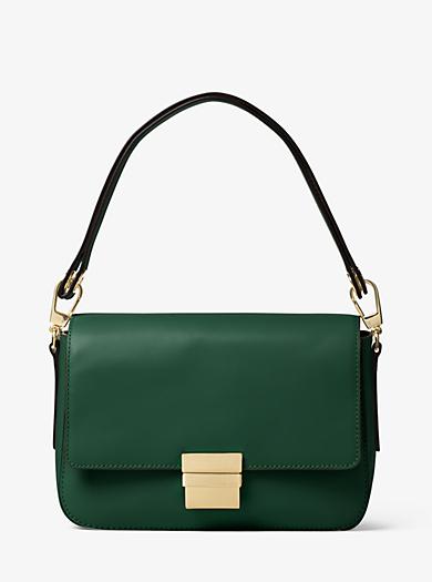 Madelyn Large Leather Shoulder Bag by Michael Kors