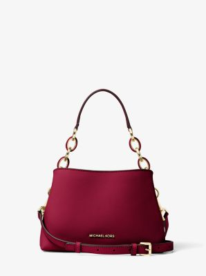 Portia Small Saffiano Leather Shoulder Bag by Michael Kors