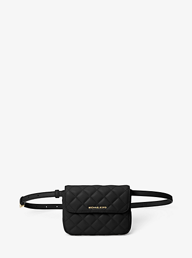 Sloan Small Quilted-Leather Belt Bag by Michael Kors