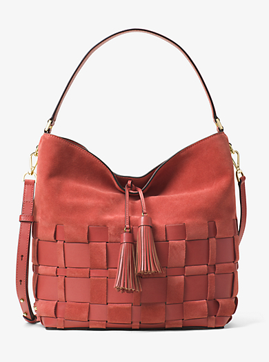 Shoulder Bags In Canvas Leather Amp Suede Michael Kors