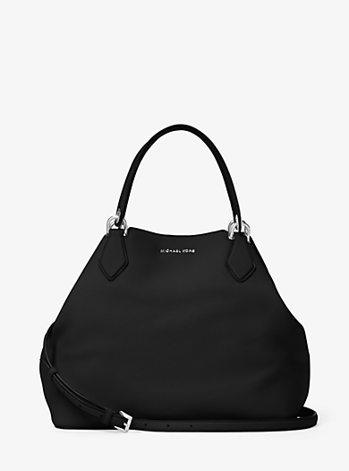Anabelle Large Leather Tote by Michael Kors