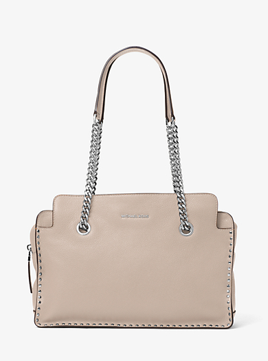 Astor Large Leather Satchel by Michael Kors