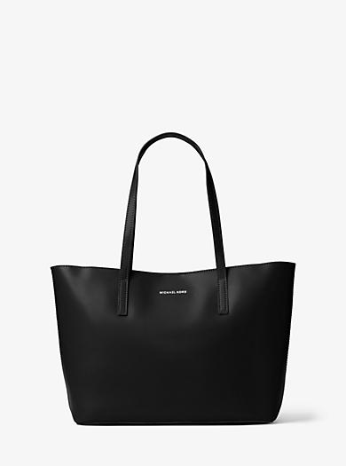 Emry Medium Leather Tote Bag by Michael Kors