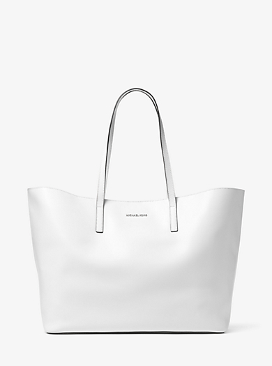 Emry Extra-Large Leather Tote Bag by Michael Kors